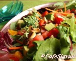 Sumarlegt og hollt salat